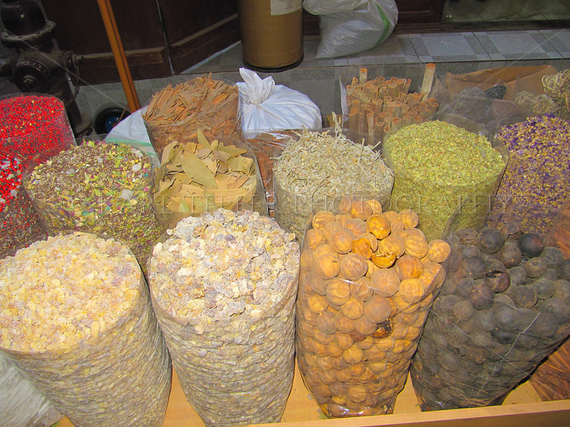 Spices, in the Spice Souk.