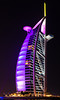 <h2> As night progressed the lighting become more prominent. Burj al Arab in full lighting.  More Northern exposure.....