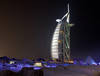 <h2>Beach area surrounding the Burj al Arab.