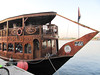 <h2> Bow of a Dhow that serves chow.