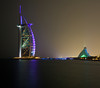 Burj al Arab and the Jumeirah Beach Hotel