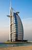 <h2> Burj al Arab, the only 7 star hotel on the world.   Built on man-made land in the Persian Gulf