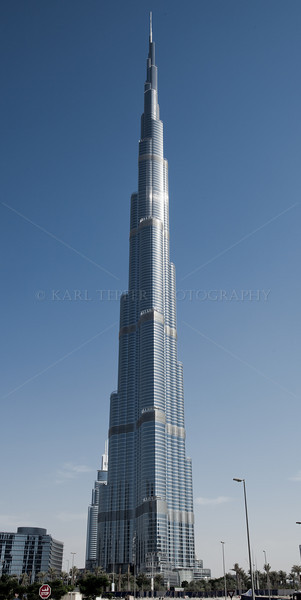 <h2>Tallest building in the world...the Burj Khalifa. A few days after taking this shot, took the elevator to the top. Good view, could see Iran, the Gulf of Oman, the Straits of Hormuz.   Was a bit disappointed since I couldn't quite see the 7-11 I had passed on the way to the Metro.