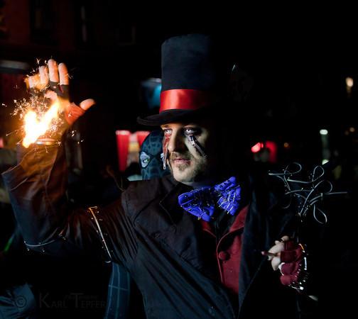 FIRE! Halloween Parade, New York City, 2010