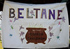 Beltane banner, Copper Cauldron