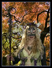 """May be hard to notice, but she did have wings on.  Can be seen on the left side of the picture. """"Beltane""""  """" Witch"""""""