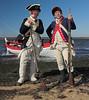 Long Island Sound and Revolutionary War Reenactors