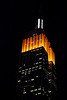 <h1>Empire State Building Halloween: 10-31-11
