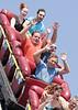"Cyclone Roller Coaster, Coney Island, New York.<br /> (5""x7"" crop)"