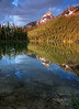 Teton reflections at dawn<br /> © 2009 Karl Tepfer