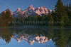 Grand Teton Mountains at Sunrise<br /> © 2009 Karl Tepfer