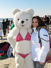 Fortunately, another sunny yet cold day for those brave enough to plunge into the Atlantic Ocean for the annual  Long Beach Superbowl  Splash.   Great cause for the Make-A-Wish Foundation.