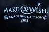 <h2>February 5, 2012 Make-A-Wish Super Bowl Splash Long Beach, New York Atlantic Ocean: 42 degrees Estimated crowd size: 15,000!