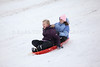 SNOW DAY! Time for sledding fun at Cedar Creek Park in Seaford.