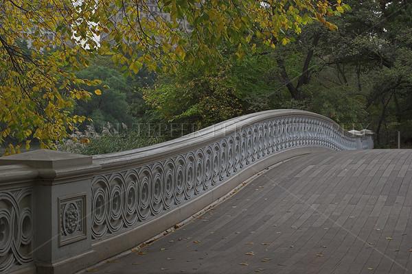 Bow Bridge.Central Park, Manhattan, New York City.  Many films have scenes filmed on this bridge.