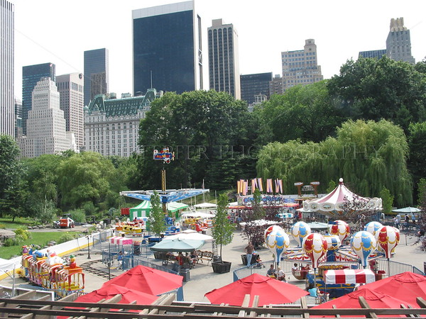 Wollman Rink in Summertime
