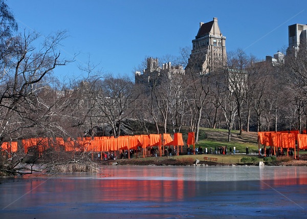 Central Park, Manhattan, New York City.  The Gates