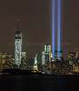 Three Icons:  Freedom Tower,  Statue of Liberty, Tribute in Lights