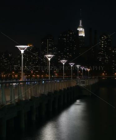 View of Midtown Manhattan from Gantry Park