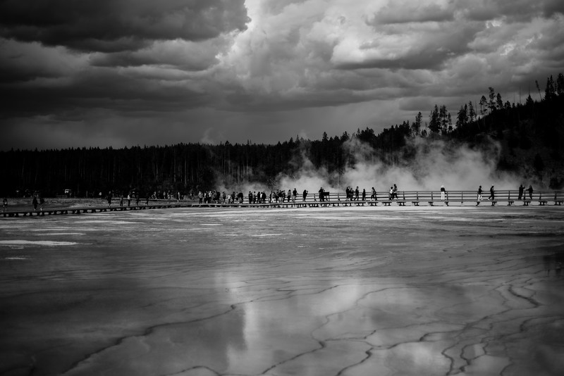 People at Grand Prismatic