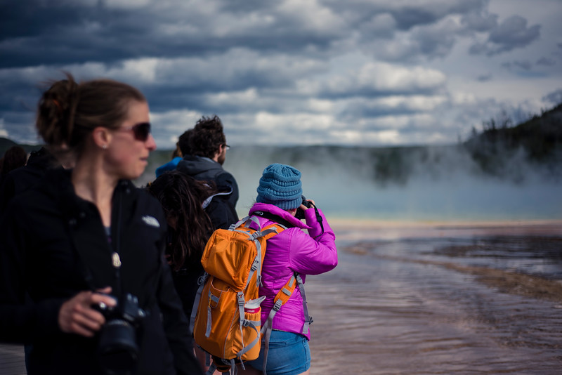 Looking at Grand Prismatic