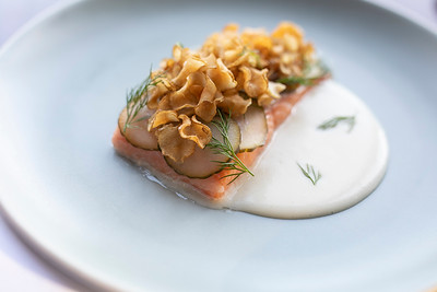 Poached Alberta Trout