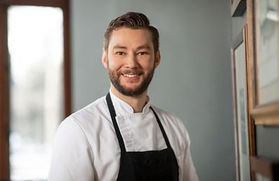 Deane House Chef Christopher Barton
