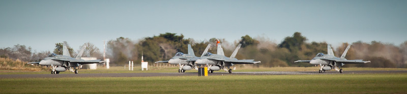 F18a's  - Preparing For Takeoff