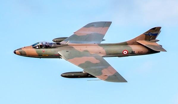 Hawker Hunter - High Speed Pass