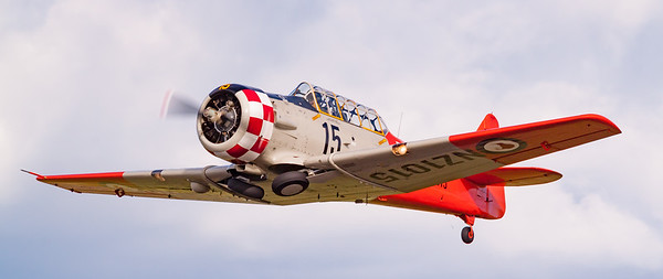 T6 Texan - Low Speed Pass