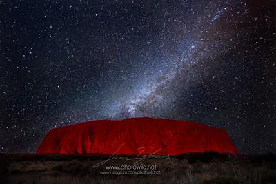 Uluru Milkyway