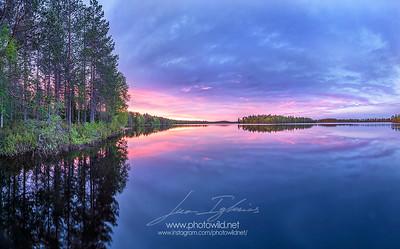 Pesiöjärvi lake