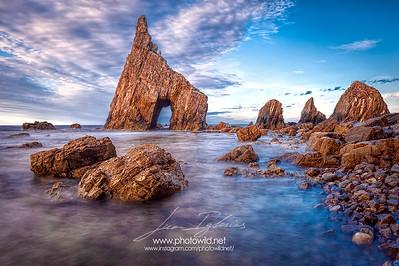 Campiecho beach (Asturias)