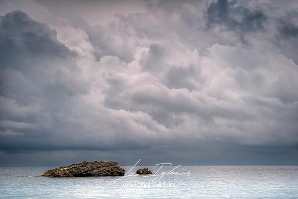 Stormy sea. La Isla, Asturias.