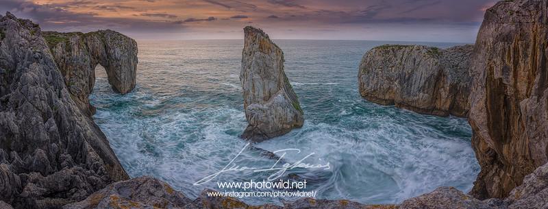 Tomasón cliffs, Asturias