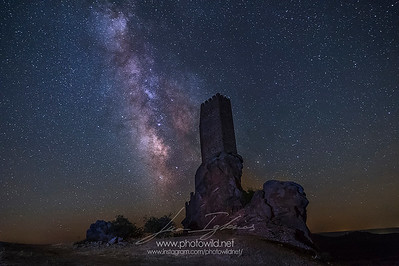 Zafra Castle Milkyway