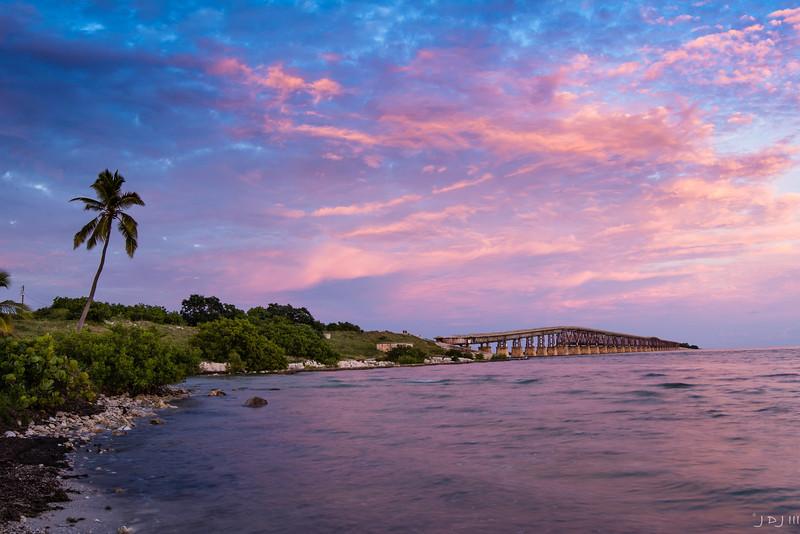 Bahia Honda old bridge, Florida Keys