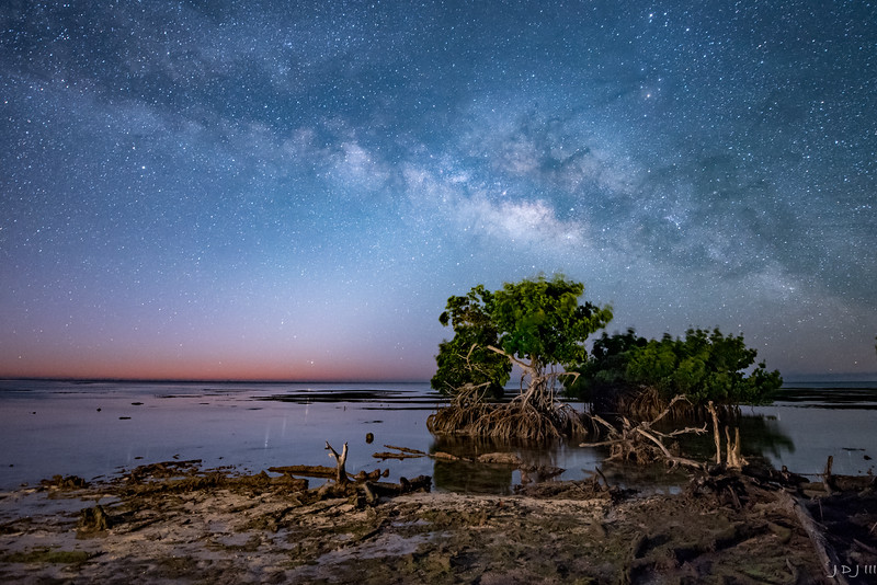 Florida Keys winter Milky Way