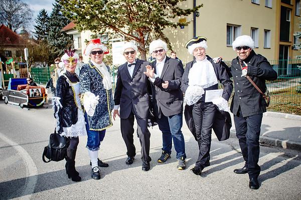 Christa Brandstätter, Hubert Stieger, Franz Haas, Michael Daxböck, August Grubhofer und Robert Ebner.<br /> Fotocredit: Stadt Melk / Franz Gleiß