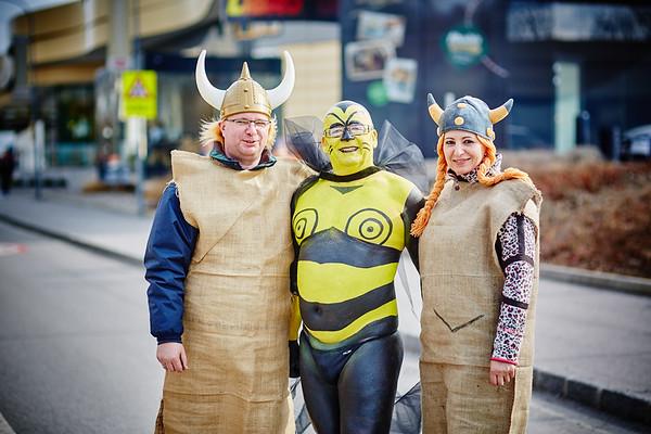 Organisator Gerhard Schuberth (Mitte) mit Petra und Michael Ringsmuth.<br /> Fotocredit: Stadt Melk / Franz Gleiß