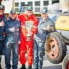 Prunzi-Nass Euro Racing-Team: Bürgermeister Thomas Widrich (v. l.), Hans Birkner sowie die Stadträte Peter Rath und Anton Linsberger. <br /> Fotocredit: Stadt Melk / Franz Gleiß
