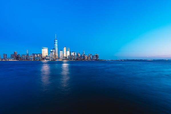 The Blue Hour Skyline