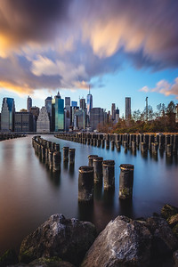 Portrait of a NYC Sunset