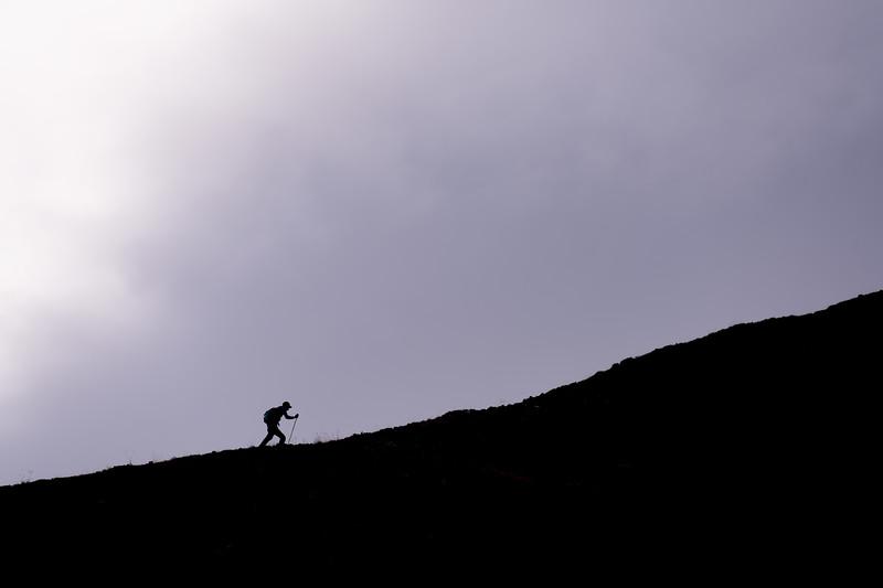 Hiking SIlhouette