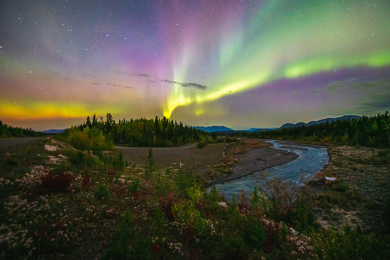 Aurora Borealis at Quill Creek