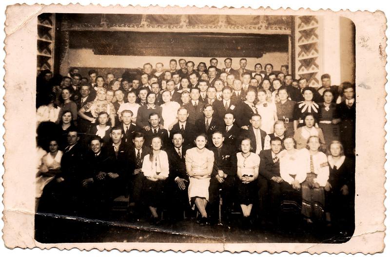 Група заліщан, приблизно 1935-39 рр.
