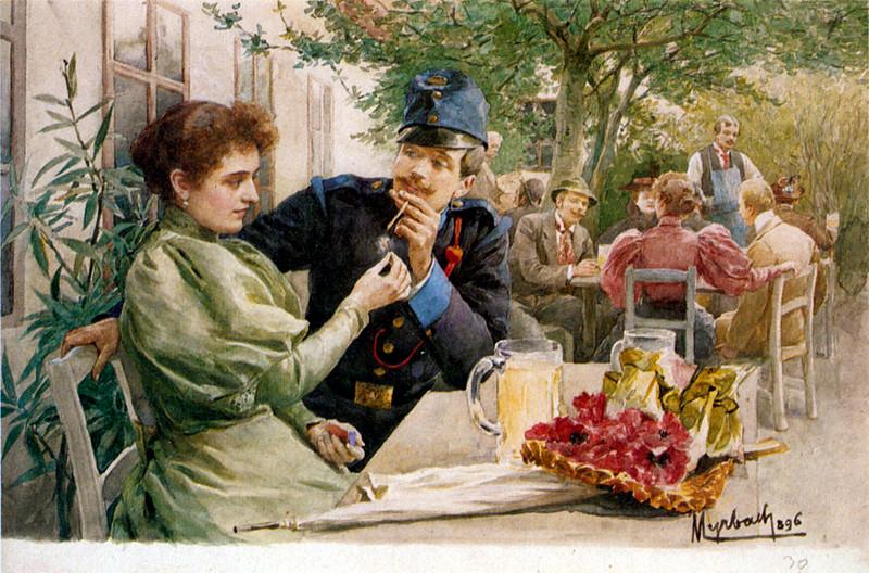 барон Феліціян Фрейгер Мирбах * Myrbach, Felician Freiherr von (1853 in Zaleszczyki/Ukraine - 1940 in Klagenfurt):