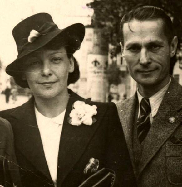 Олена і Михайло Теліги