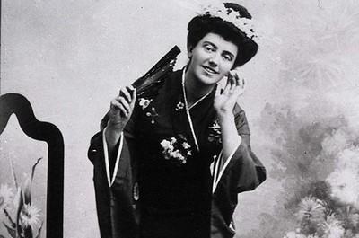Соломія Крушельницька в ролі Чіо-Чіо-Сан. Мада́м Баттерфля́й
