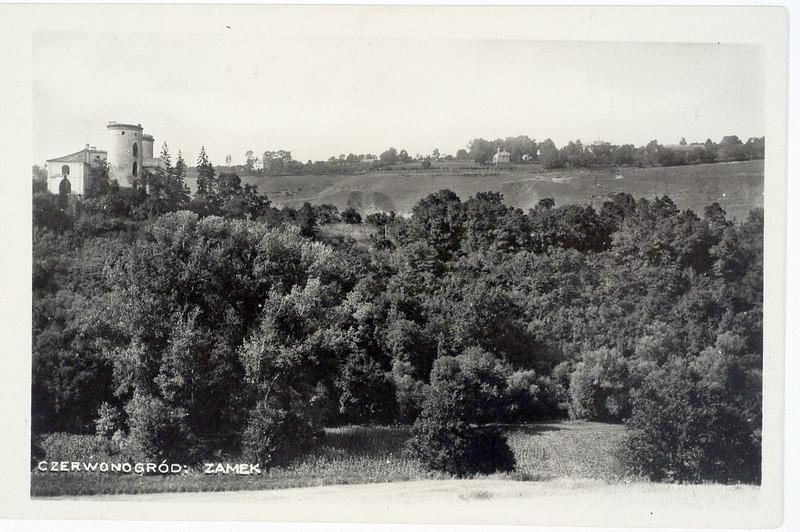 1938. Червоногород. Замок.